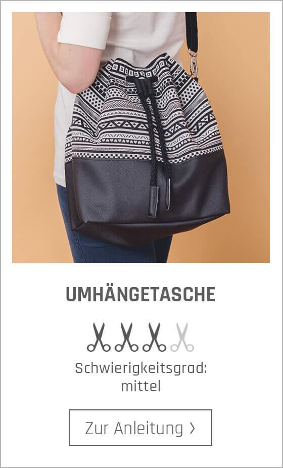 Kostenlose Nähanleitungen für Taschen bei stoffe.de.