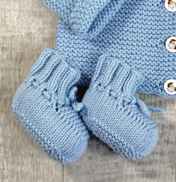 Babyschuhe Stricken Mit Unserer Strickanleitung Stoffede